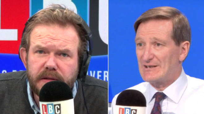 Dominic Grieve didn't hold back in his interview with James O'Brien