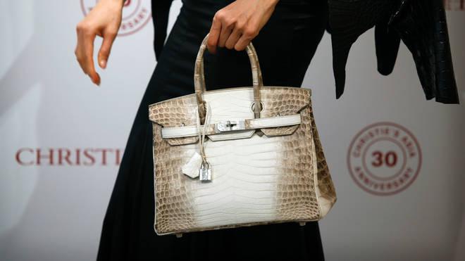 The Hermes handbag sold at auction