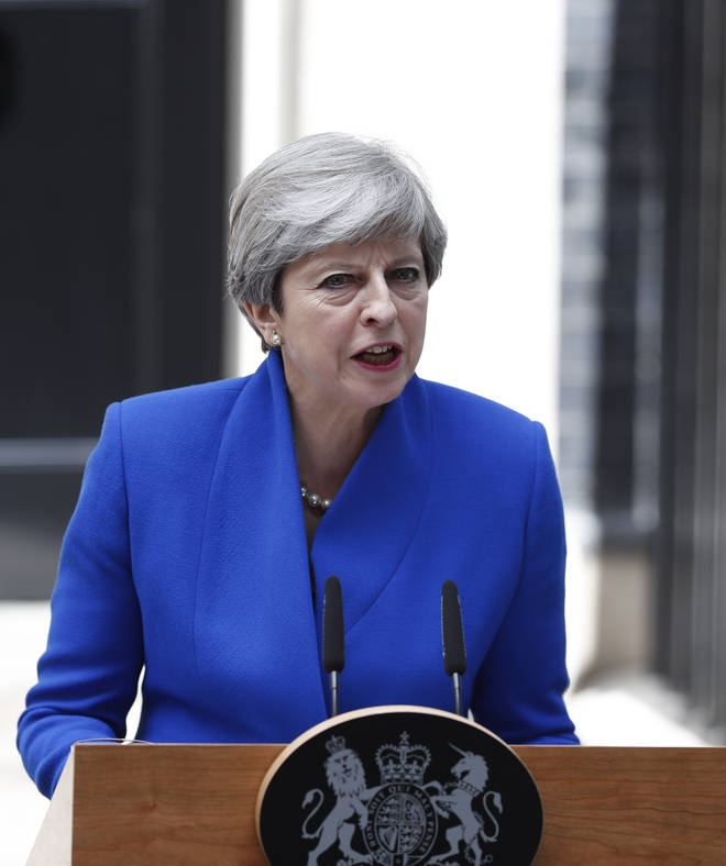 Theresa May called for a snap election in June 2017