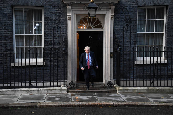 Boris Johnson is now at the helm
