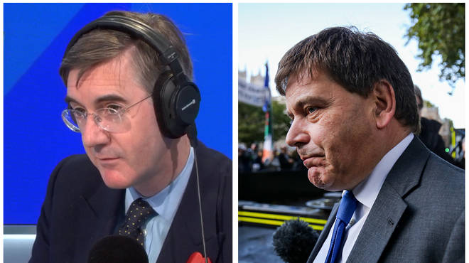 Jacob Rees-Mogg and Andrew Bridgen