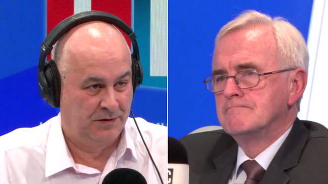 Iain Dale challenged John McDonnell over Labour's response to anti-Semitism