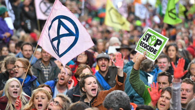 More than 1,800 Extinction Rebellion protesters were arrested