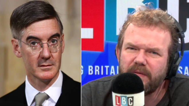 James O'Brien had strong words for Jacob Rees-Mogg