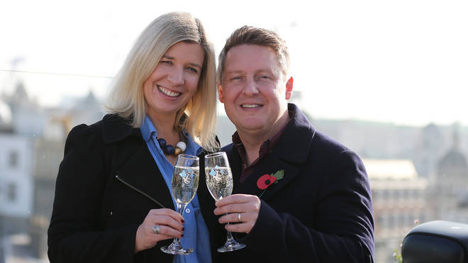 Sylvia and Gavin have won £10,000-a-month for 30 years