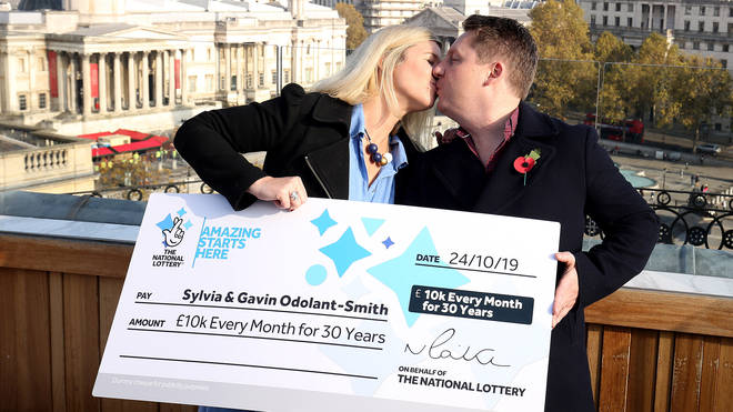 The lucky couple will also help animal charities with their win