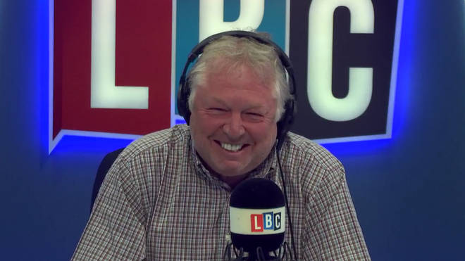Nick Ferrari couldn't stop laughing as he discussed A-Level results