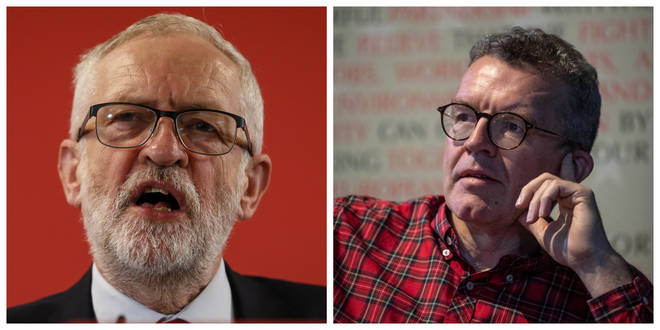 Jeremy Corbyn has issued a lukewarm response to Tom Watson's resignation