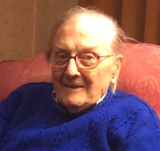 98-year-old war veteran, Peter Gouldstone died a year ago