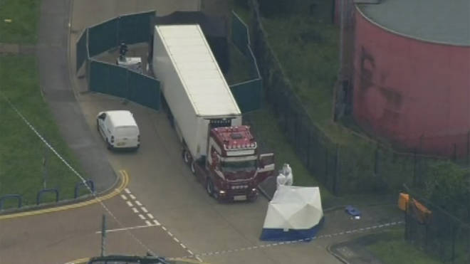 Essex Police worked with Vietnamese officials to identify the bodies from the lorry