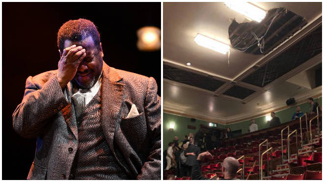 """Actor Wendall Pierce told audience members he was """"so sorry"""""""