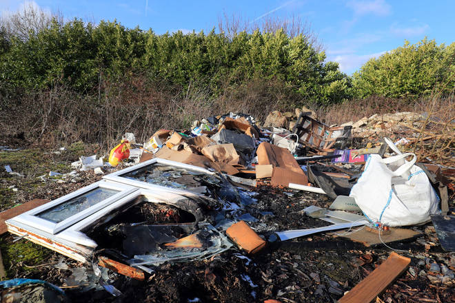 Fly-tipping costs English councils £57 million a year