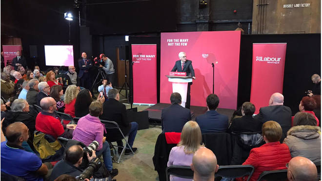 John McDonnell has been speaking at a Labour event in Liverpool