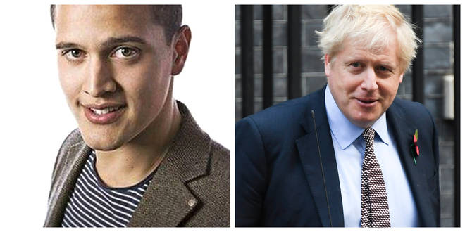 Boris Johnson has criticised Nick Conrad's comments
