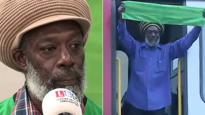Harvey Mitchell, the tube driver who joined the Grenfell vigil