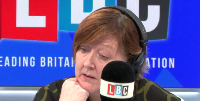 Shelagh Fogarty took the emotional call from Sophie
