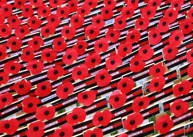 Remembrance Sunday takes place on November 10