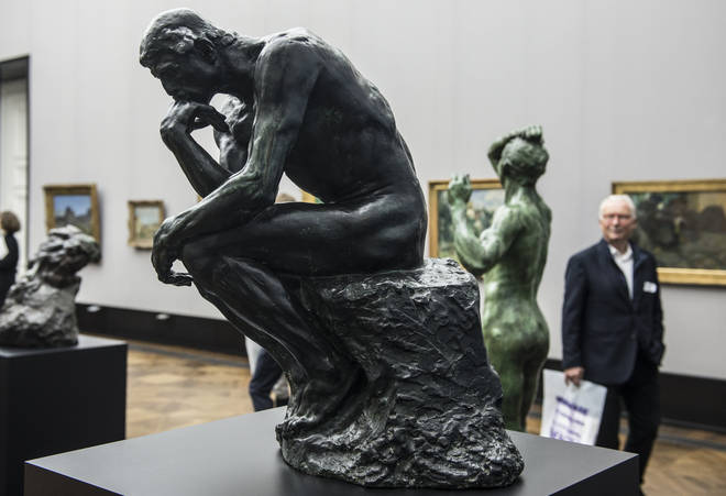 The Thinker, by Auguste Rodin