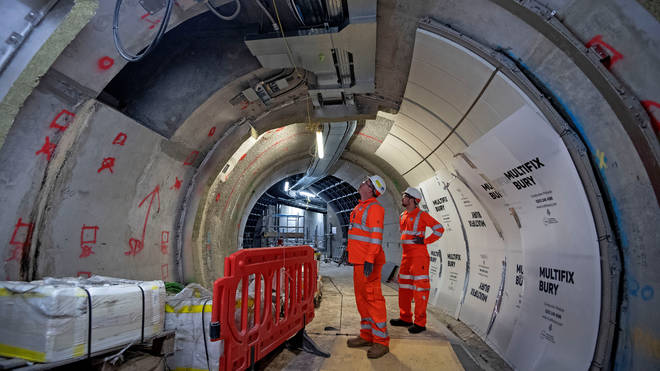 The Elizabeth Line is now expected to be completed in 2021