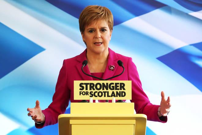 Nicola Sturgeon pledged a second Scottish Independence Referendum next year