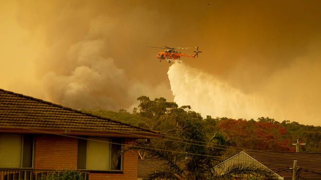 Bushfires have ravaged New South Wales, with more in Queensland and Western Australia