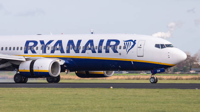 Ryanair's planes have been named the dirtiest in the UK