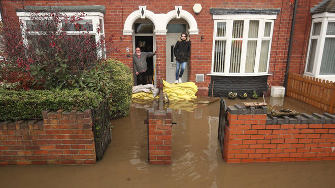 Residents in Doncaster as parts of England endured a month's worth of rain in 24 hours