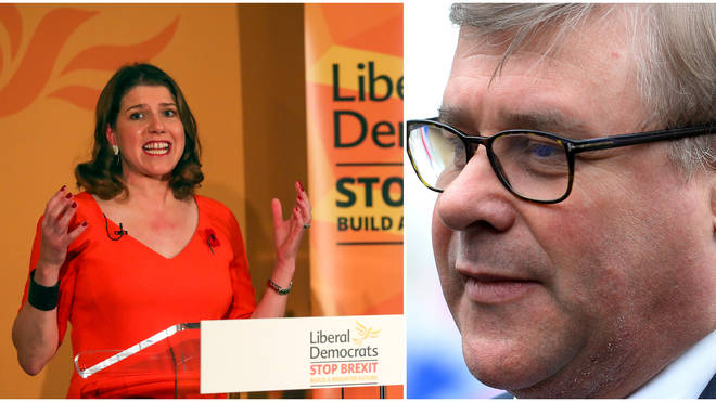 "Mark Francois thinks Jo Swinson is sticking ""two fingers up"" at 17.4m voters"