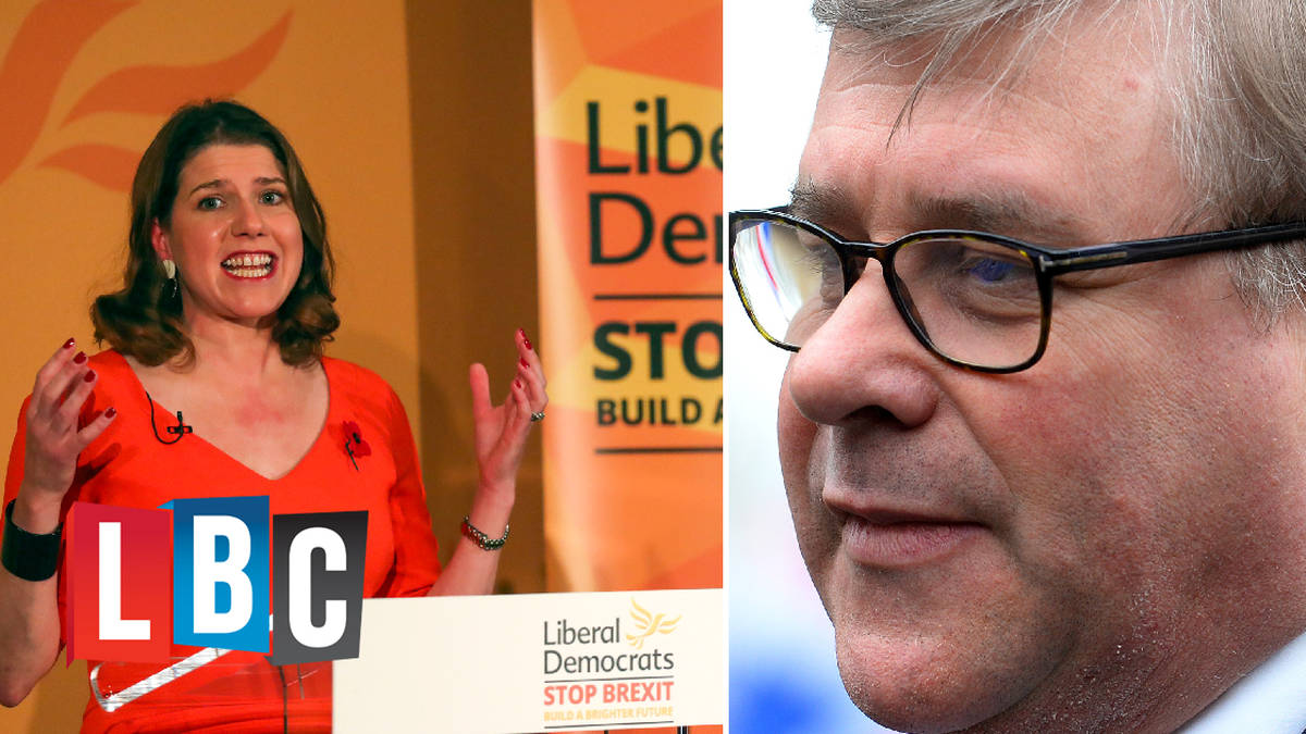 "Mark Francois thinks Jo Swinson is sticking ""two fingers up"" at 17.4m voters - LBC"