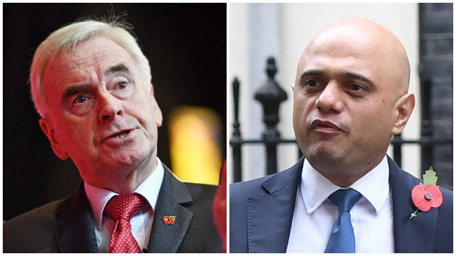 Tory and Labour politicians have clashed over claims about the opposition's spending plans
