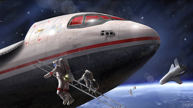 More than a third of Brits believe humans will live in space in the future