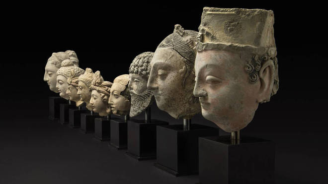 The Gandhara Sculptures returned by the police