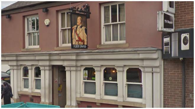 The pub in Eccles