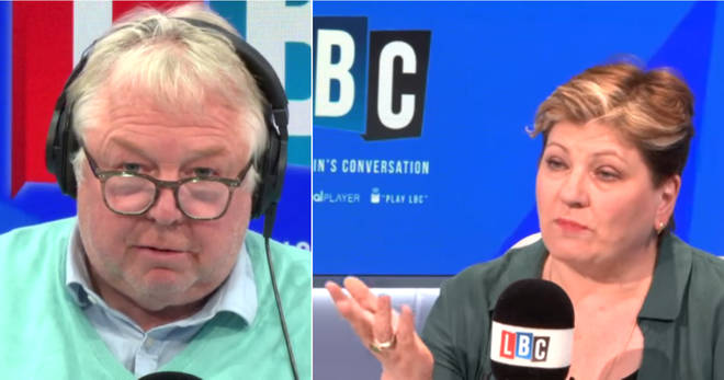 Nick Ferrari grilled Emily Thornberry over Trident