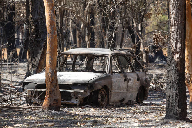 Thousands of residents have been evacuated in Queensland over the weekend due to fires