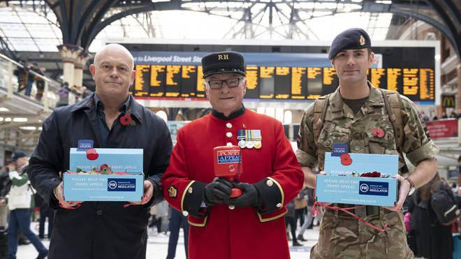 The Royal British Legion raises money through the poppy appeal