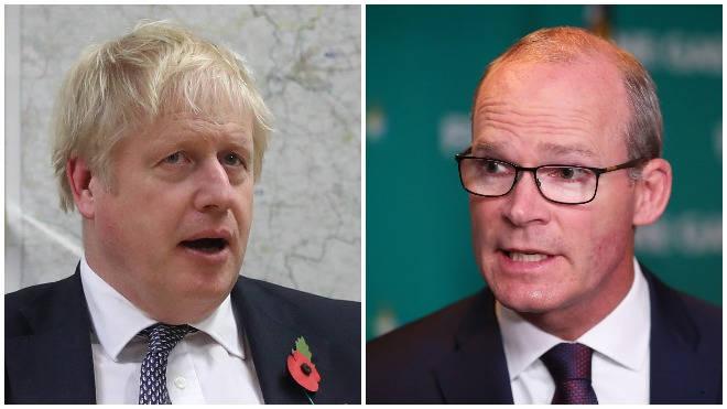 Simon Coveney has criticised Boris Johnson's pledge to protect Northern Ireland veterans from prosecutions