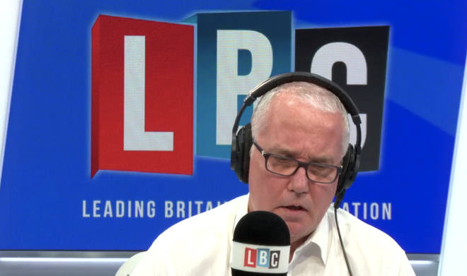 LBC's Eddie Mair spoke to Mr Farage