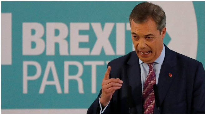 Nigel Farage announced he would stand down Brexit Party candidate in 2017 Conservative-winning seats