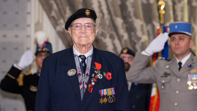 William Allen served as a guardsman in the Guards Armoured Division of the Coldstream Guards