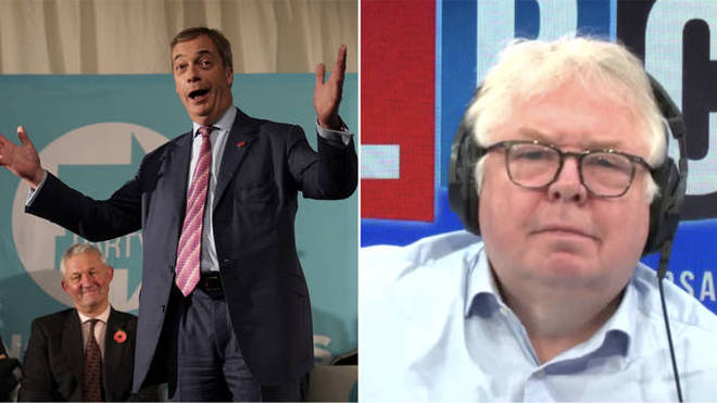 Nick Ferrari heard from a candidate dropped by Nigel Farage's Brexit Party
