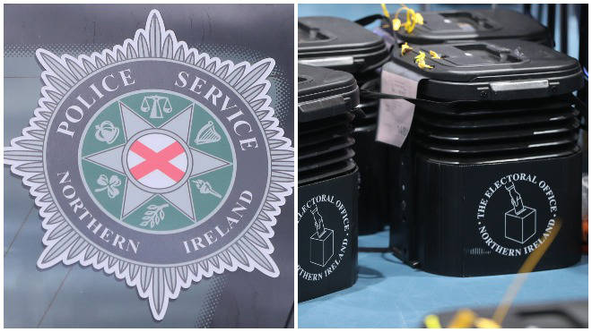 The PSNI are investigating electoral fraud in Londonderry