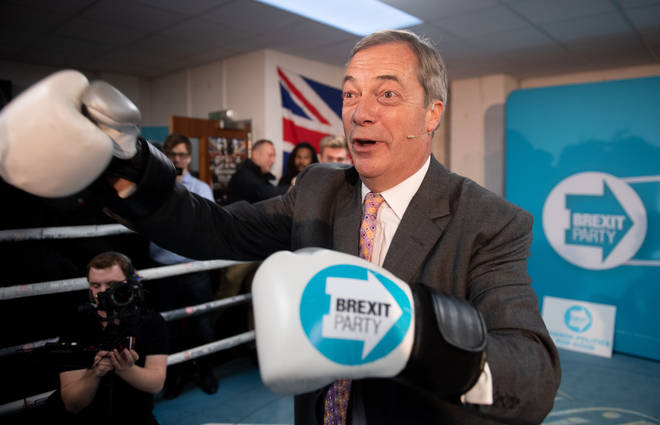 Nigel Farage will not back Boris without seeing the Tory manifesto