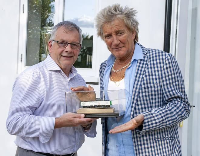 Sir Rod Stewart spoke to Railway Modeller magazine