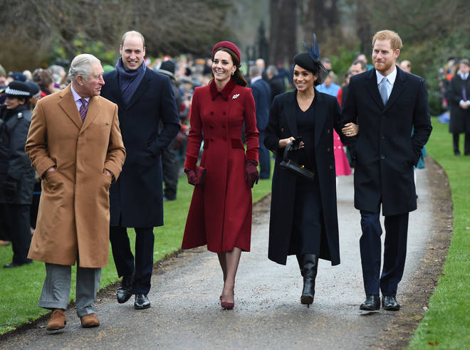 The pair have spent the last two Christmases with the rest of the royal family at Sandringham