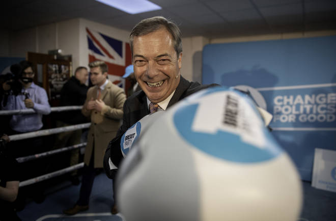 Nigel Farage fought back against claims he would vote Conservative