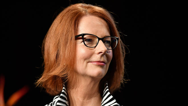 Hillary Clinton has been speaking to former Australian prime minister Julia Gillard