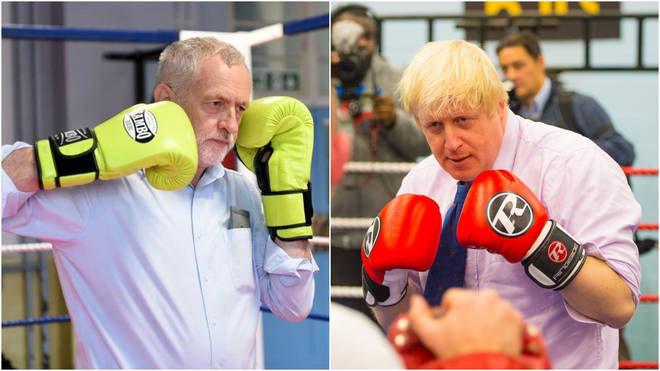 Jeremy Corbyn and Boris Johnson are also no strangers to the ring