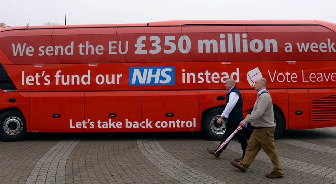 The Vote Leave bus was one of the most talked about parts of the referendum campaign