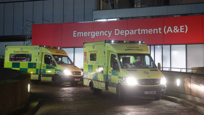 File photo: Just 83.6 per cent of patients arriving at A&E were treated or admitted in four hours